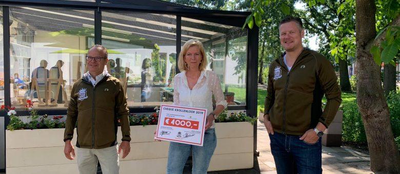 PieterBrueghelHuis verrast met 'vette'cheque van krollenloop