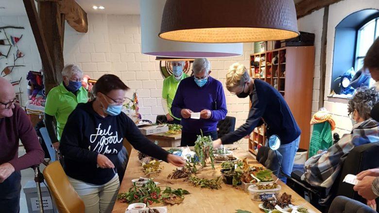 Afgelopen  zondagmiddag: echt huiselijke sfeer