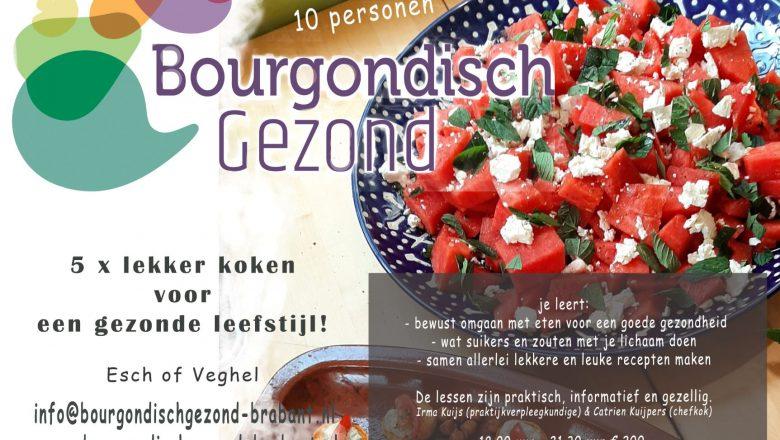 Kookcursus 'Bourgondisch gezond: lekker in je vel'