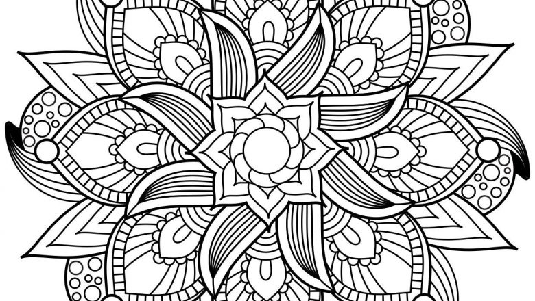 Mandala's tekenen en kleuren
